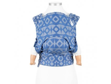 ergonomické nosítko fidella flyclick baby carrier classic night owl smooth blue