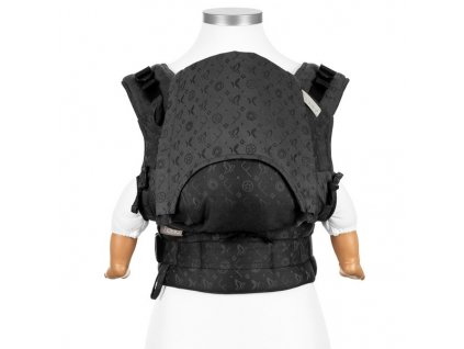 Ergonomické rostoucí nosítko Fidella Fusion BABY SIZE - Saint Tropez Charming Black