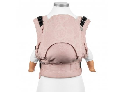 Ergonomické rostoucí nosítko Fidella Fusion BABY SIZE – Iced Butterfly – Pale Pink Rosé
