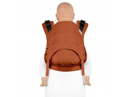 Fidella Fusion TODDLER 2.0 – Cubic Lines Rustred