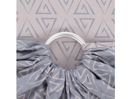 ring sling paperclips ash blue