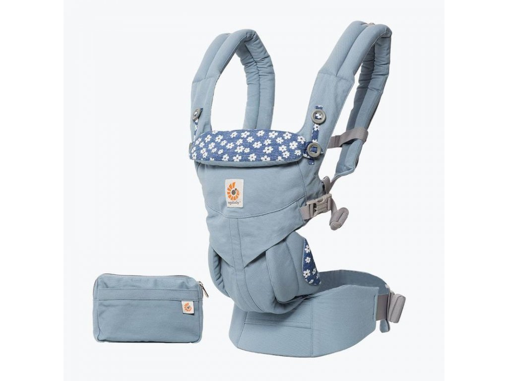 Ergo Baby 360 OMNI Blue Daisies  + Spací pytel ErgoBaby ON THE MOVE