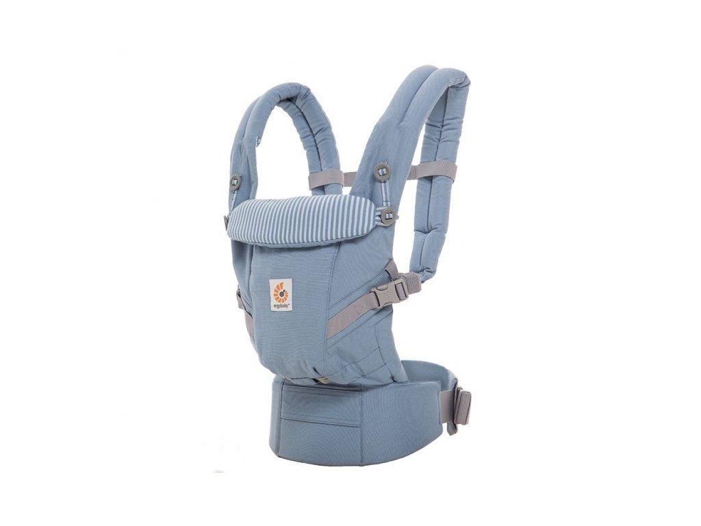 Ergo Baby ADAPT Azure Blue  + 1x pár návlečků na nožičky