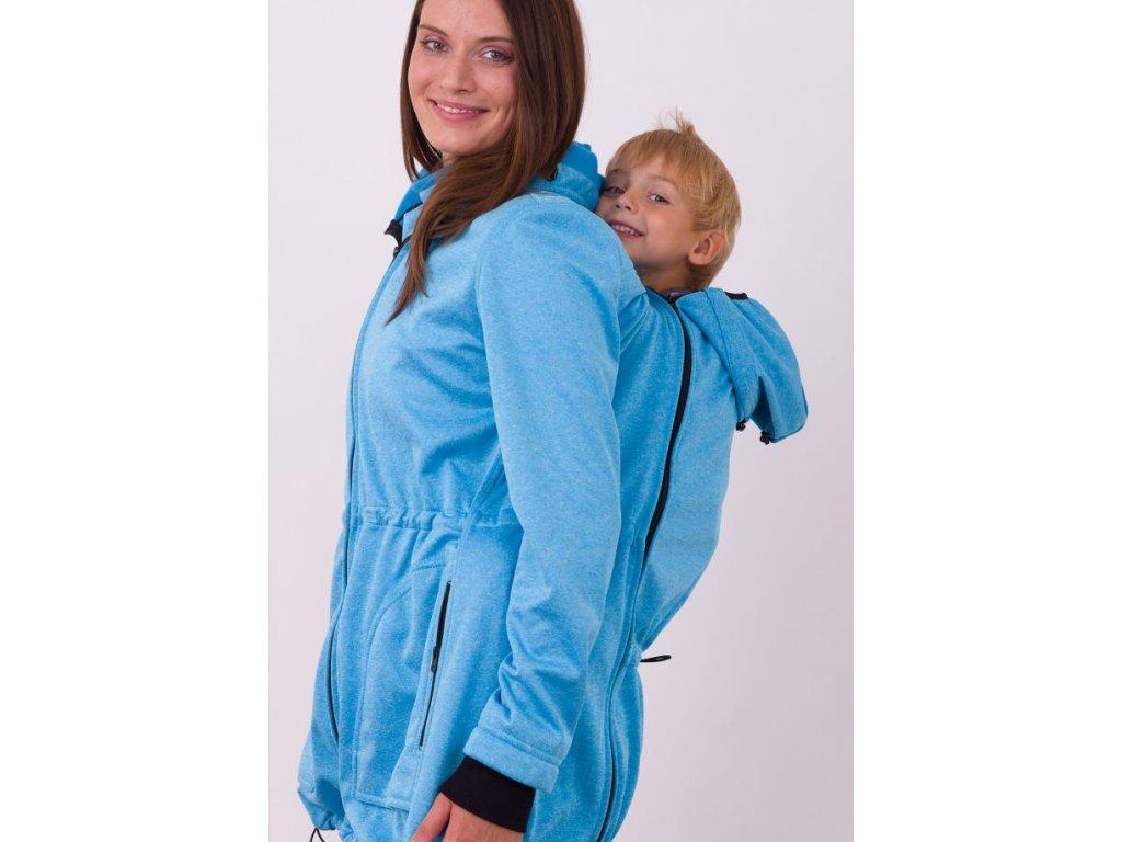Jožánek ALICE Softshellová bunda pro nošení (Barva tmavě modrý melír, Varianta velikost S/M)