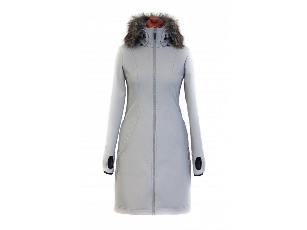 Angel wings Softshellový kabát s kožíškem s nosící a těhotenskou ... efb153b640