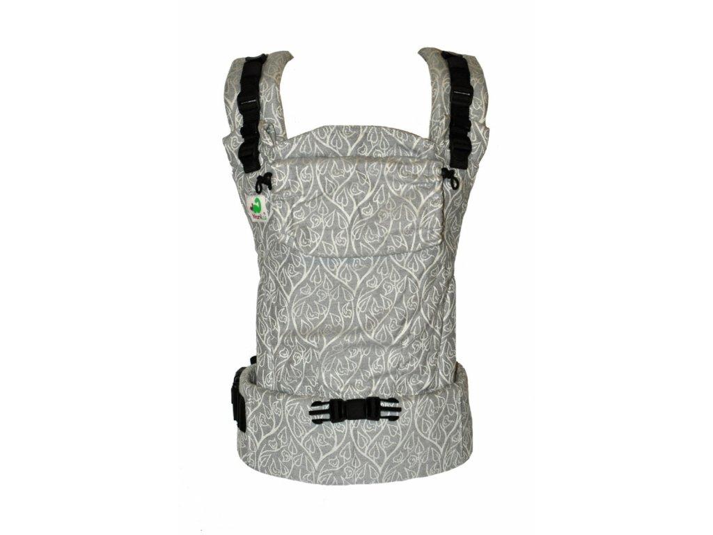 MoniLu UNI START Grey  + slintáčky MoniLu v designu nosítka