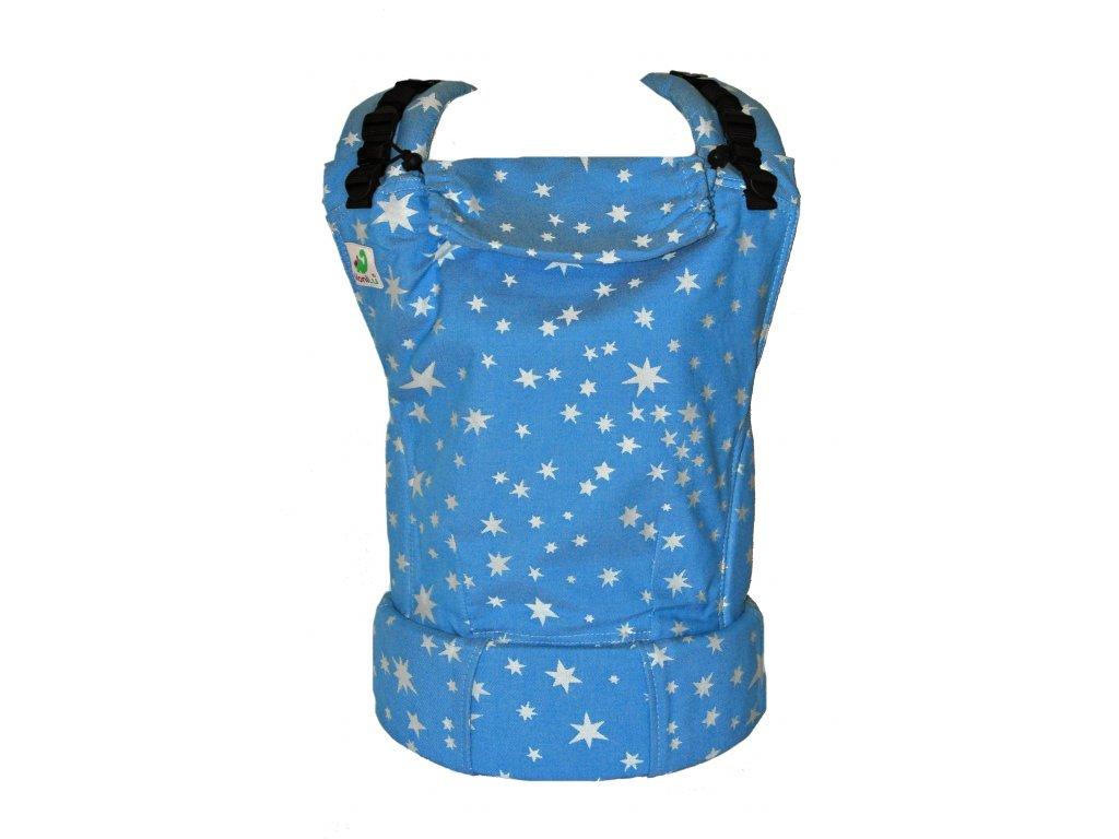 MoniLu UNI STARS JEANS  + slintáčky MoniLu v designu nosítka
