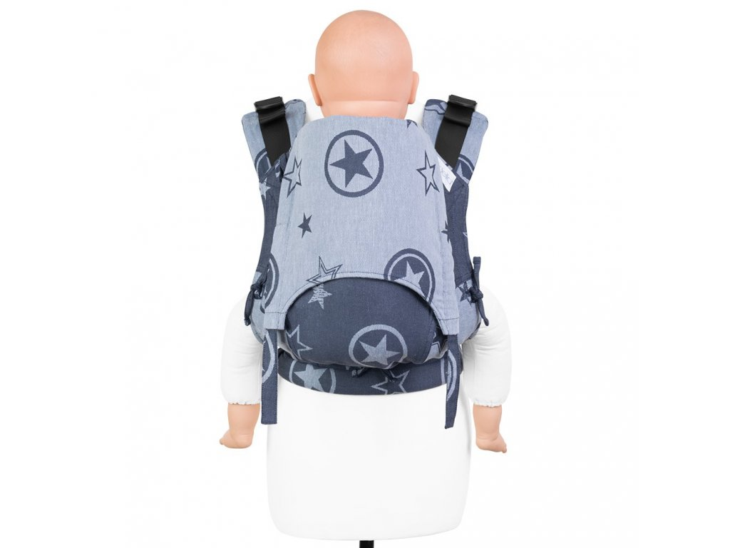 fusion v2 baby carrier with buckles outer space blue toddler