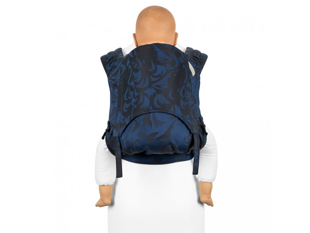 fidella flyclick plus baby carrier classic wolf royal blue