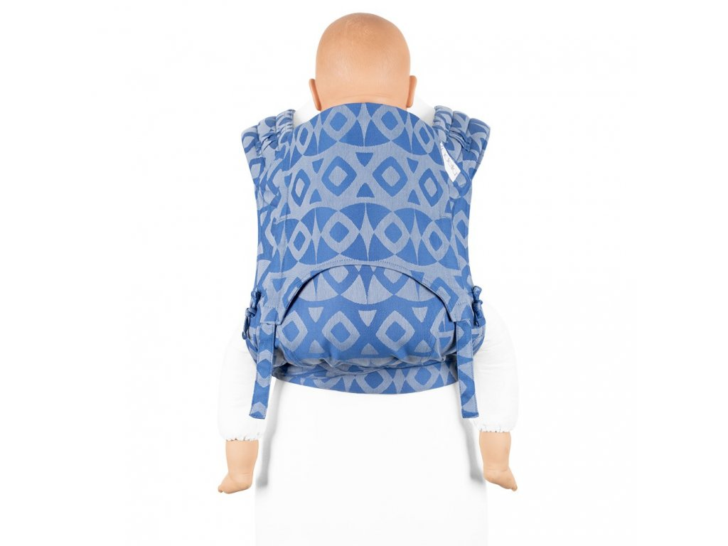 fidella flyclick plus baby carrier classic night owl smooth blue