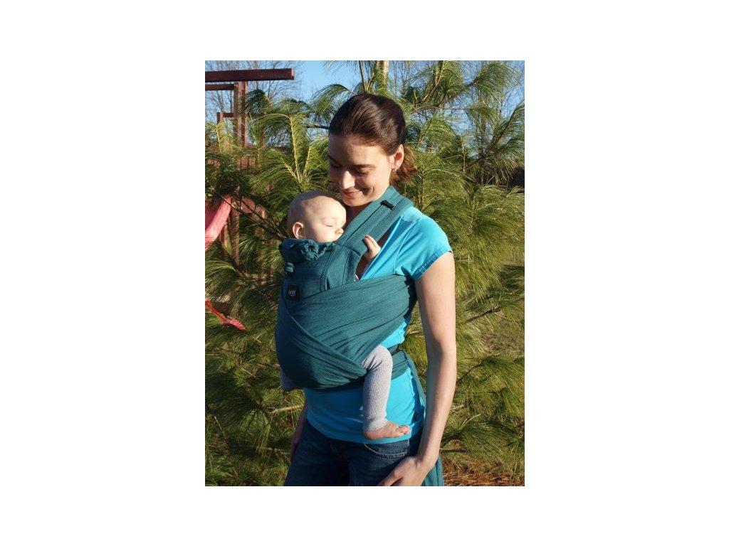 aneta ergonomicke rostouci satkove nositko jozanek bc02 s vazacimi ramennimi popruhy smaragdove