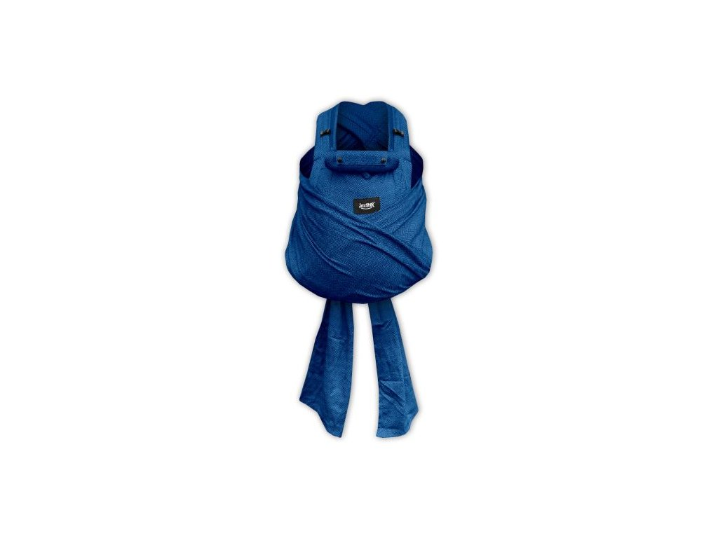 aneta ergonomicke rostouci satkove nositko jozanek bc02 s vazacimi ramennimi popruhy modre diamanty