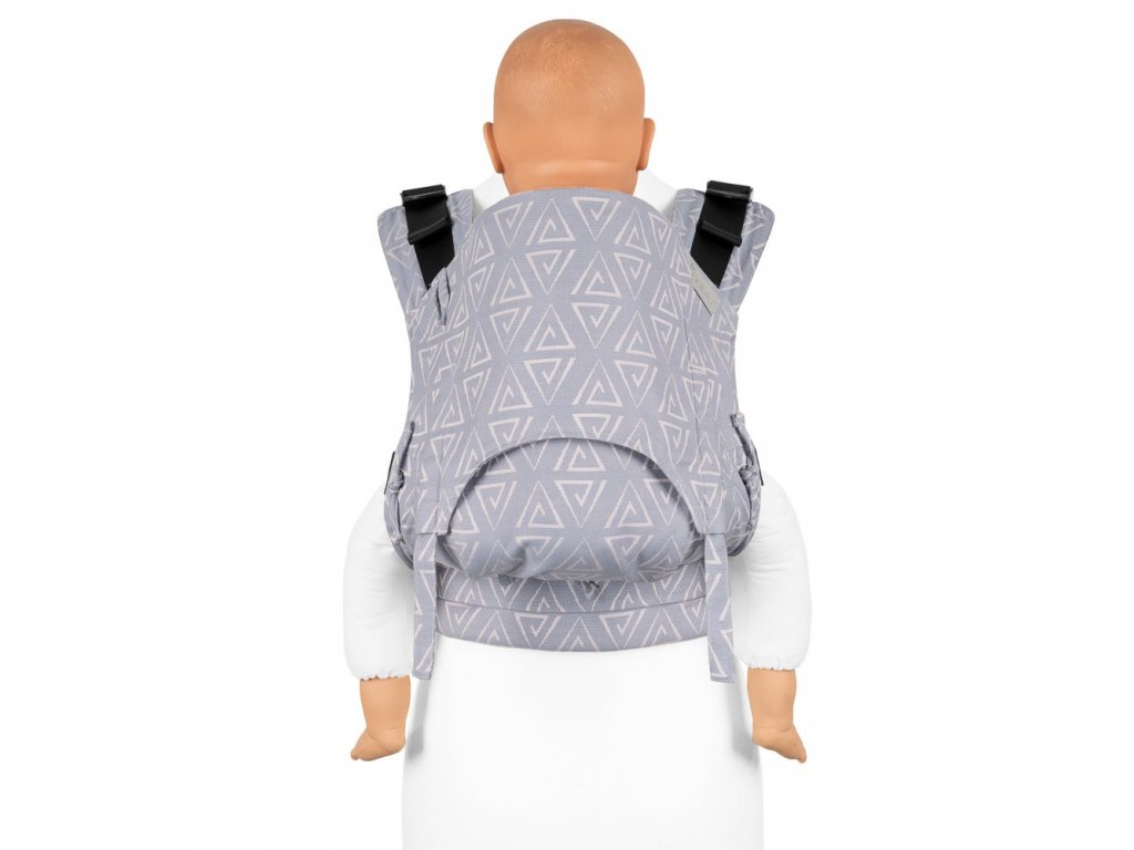 fusion v2 fullbuckle baby carrier paperclips ash blue toddler