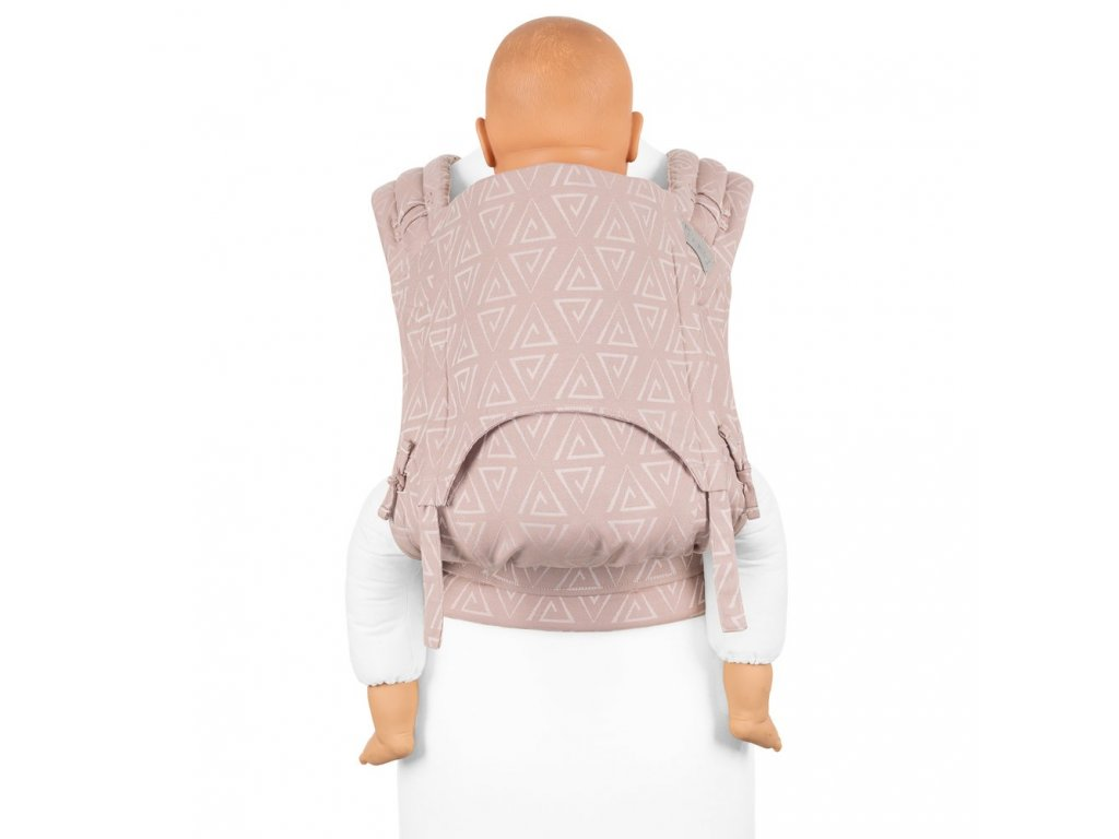 flyclick plus halfbuckle baby carrier paperclips ash rose toddler
