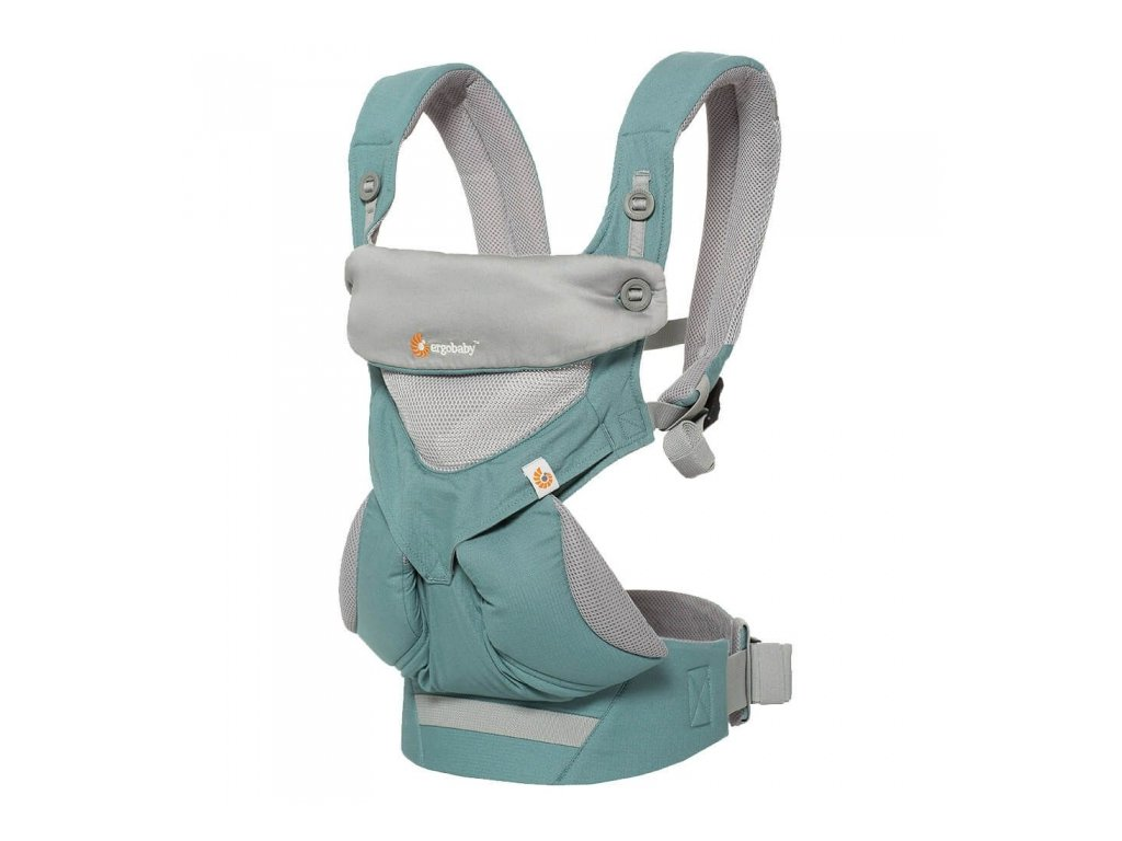 Ergo Baby 360 Cool Air Icy Mint  + Spací pytel ErgoBaby ON THE MOVE