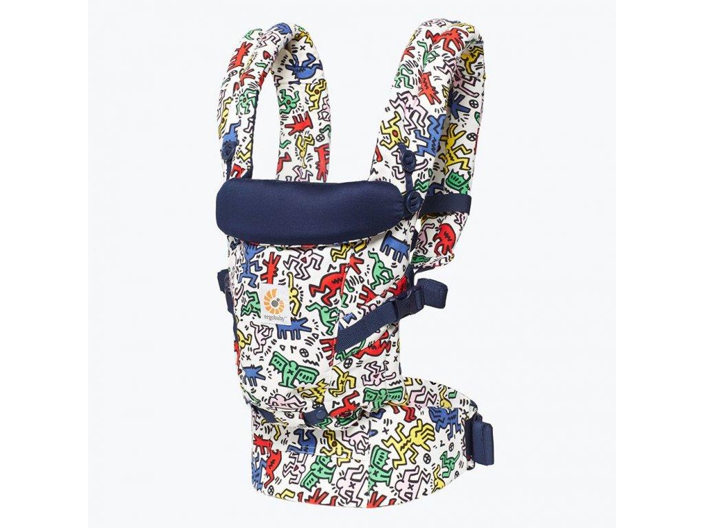 Ergo Baby ADAPT Keith Haring - Pop  + 1x pár návlečků na nožičky