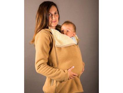 Adelay Mikina s beránkem pro nošení / těhotenství