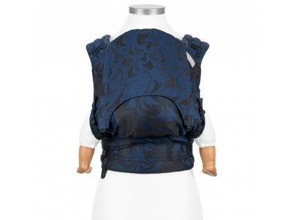 fidella flyclick baby carrier classic wolf royal blue