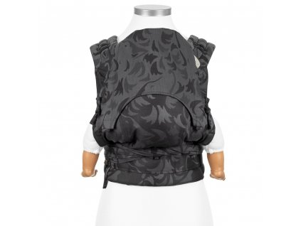 fidella flyclick baby carrier classic wolf anthracite