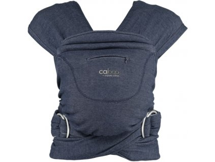 caboo organic indigo carrier front