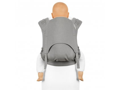 flyclick plus halfbuckle baby carrier chevron light gray toddler