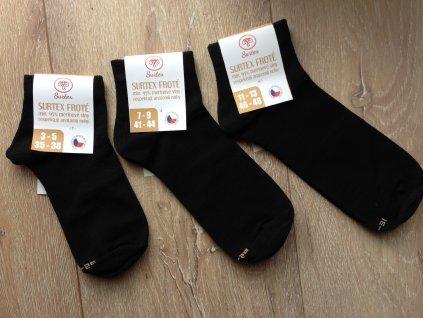 Surtex Merino ponožky tenké kotníkové (Varianta velikost 25-27 cm (5-7))