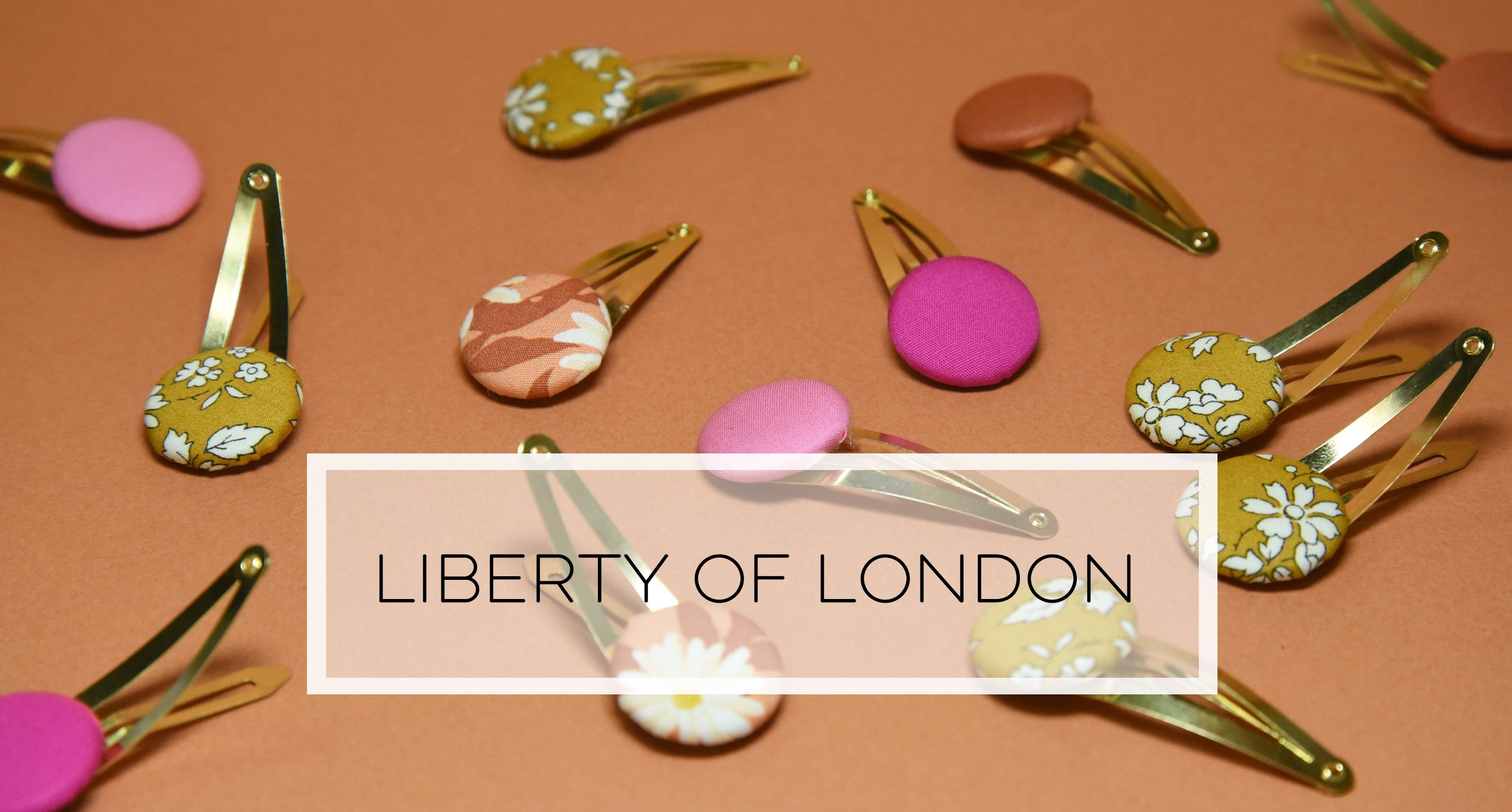 produkty ušité z dizajnových látok Liberty of London