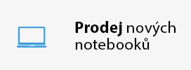 Prodej nových notebooků