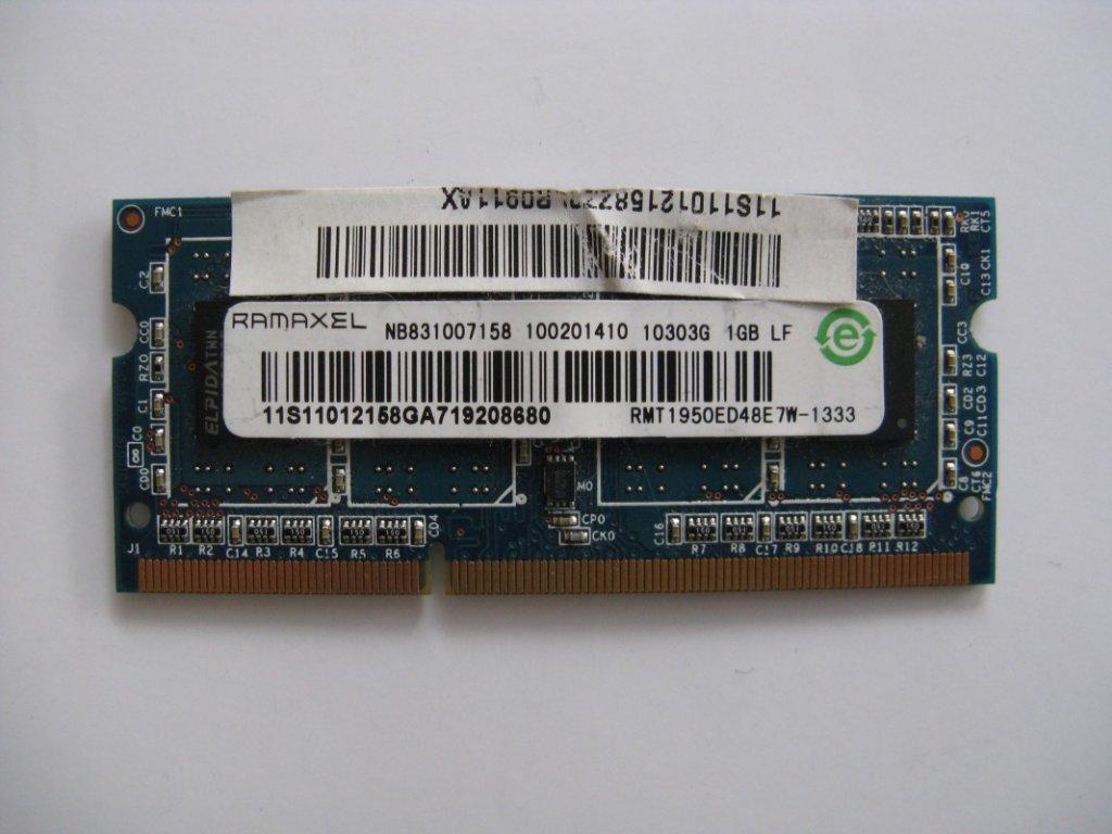 1GB DDR3 1333MHz