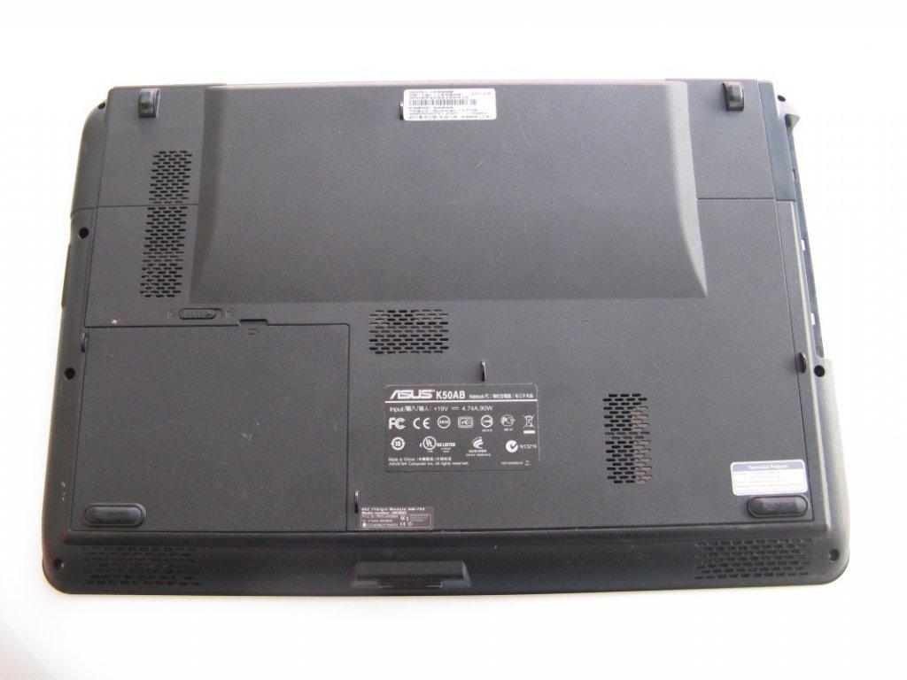 Spodní kryt pro Asus K50