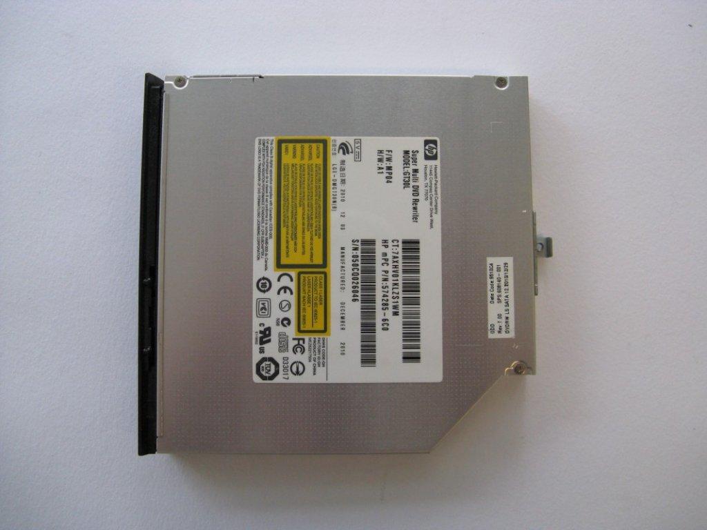 DVD vypalovačka pro HP 625