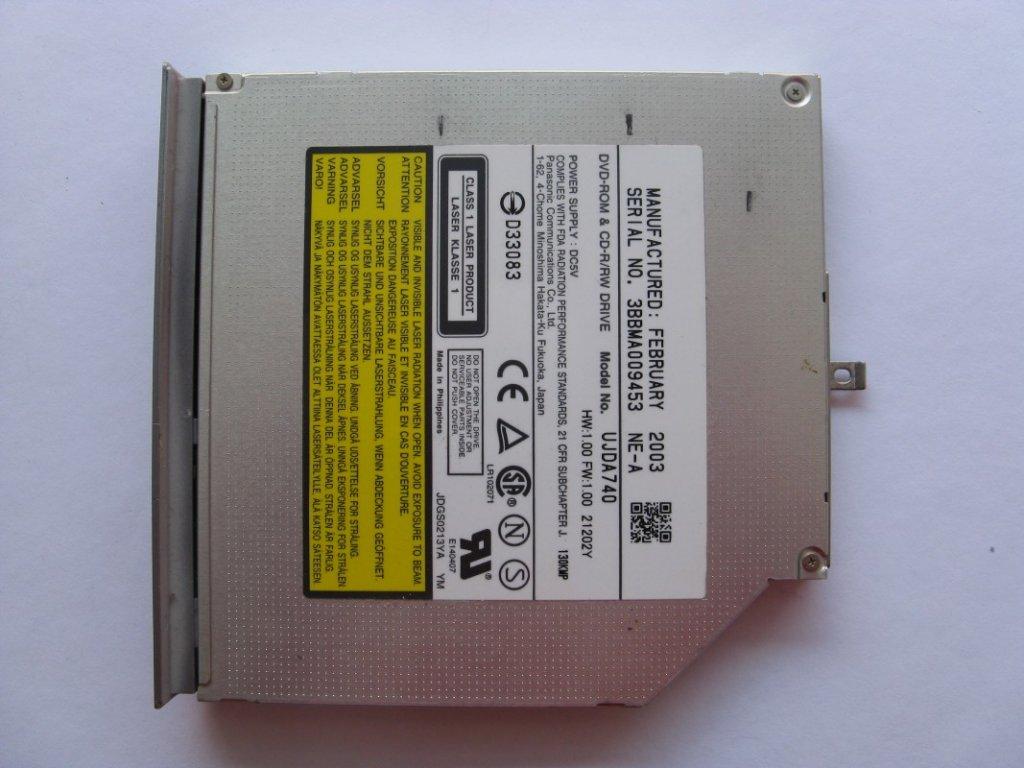 DVD vypalovačka pro NEC Versa M300