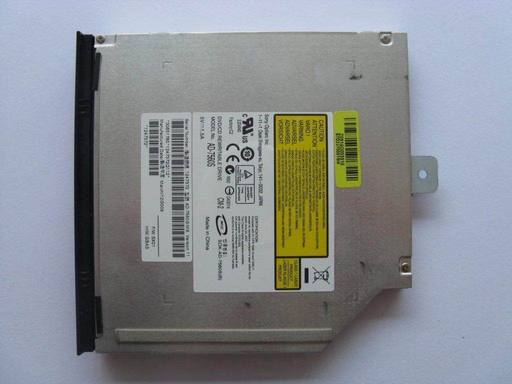 DVD vypalovačka pro MSI GT627