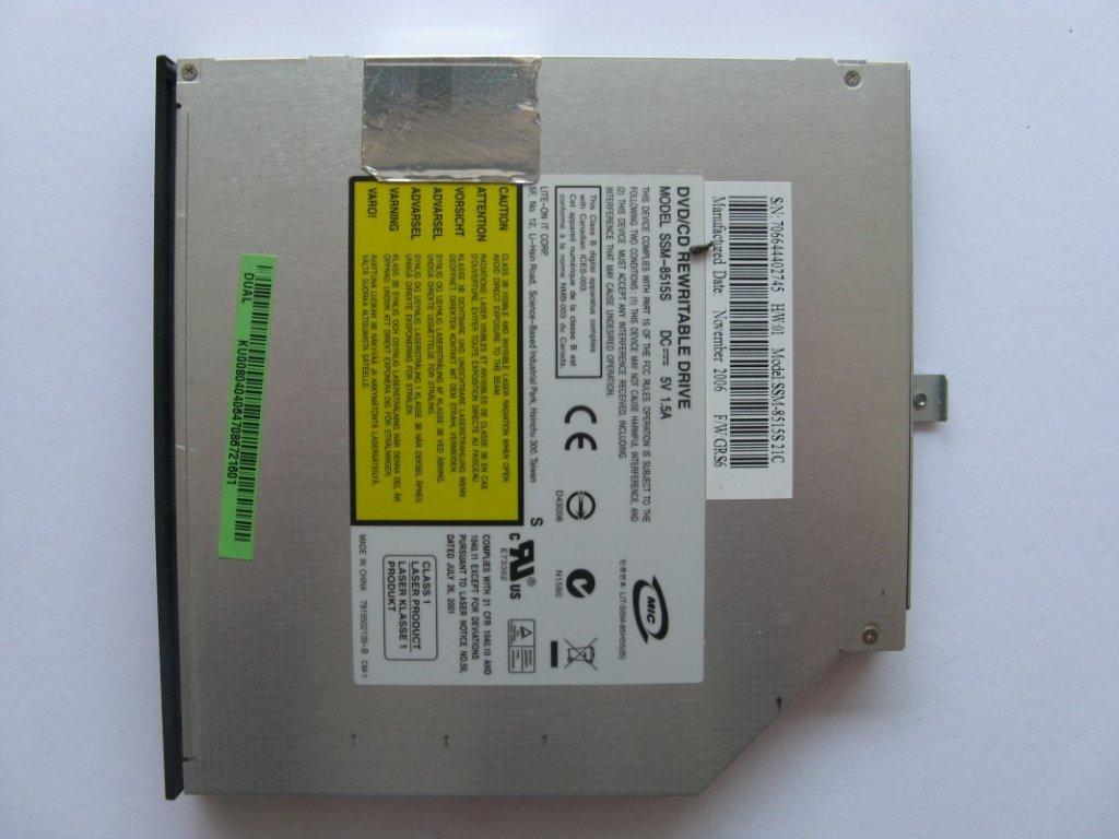 DVD vypalovačka pro Acer Aspire 3103WLMI