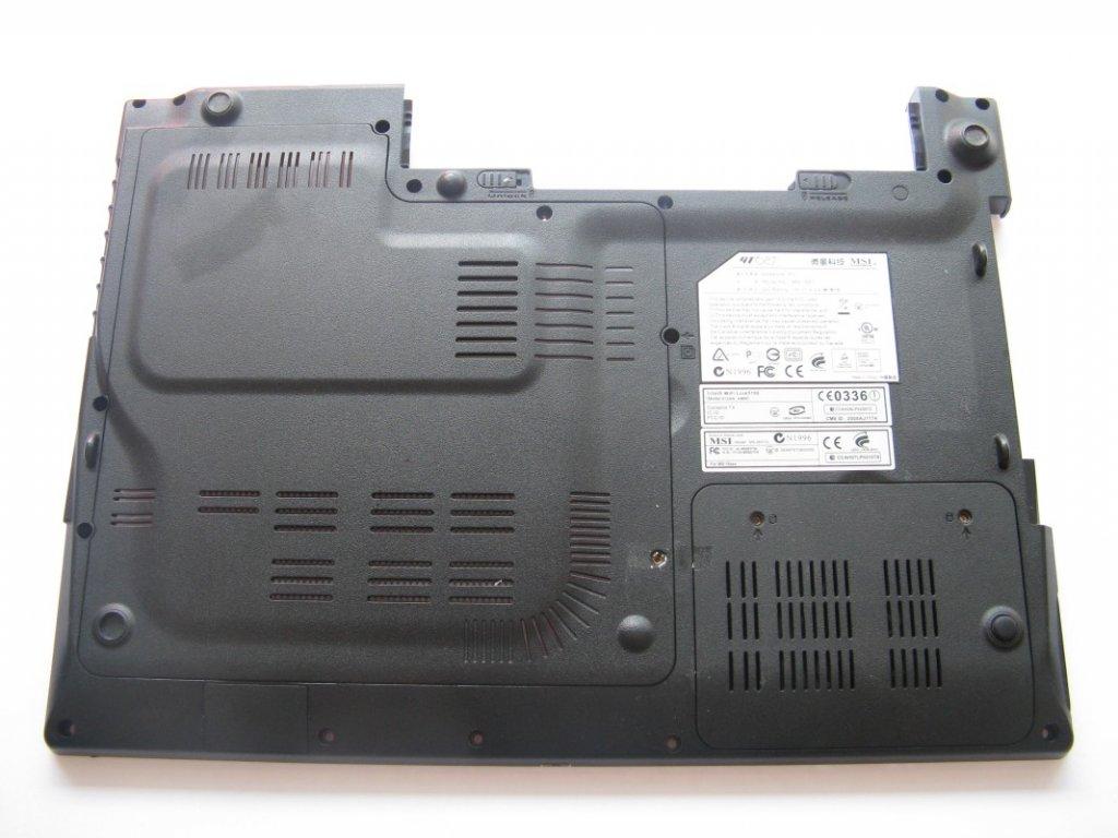 Spodní kryt pro MSI GT627