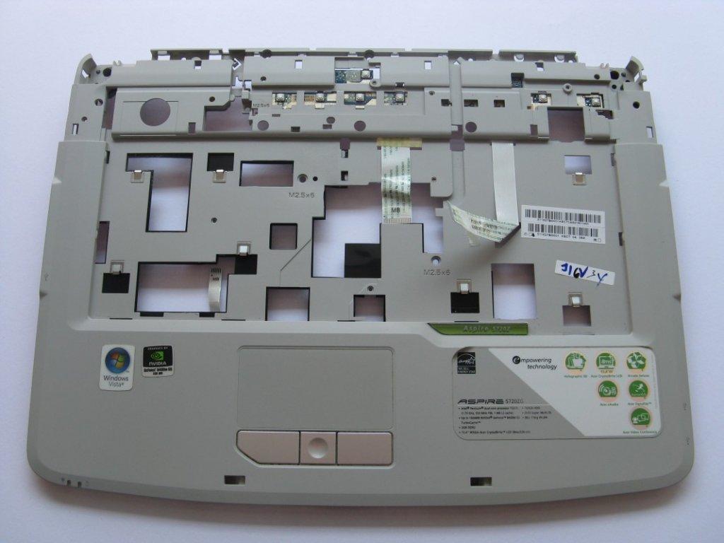 Vrchní kryt pro Acer Aspire 5720ZG