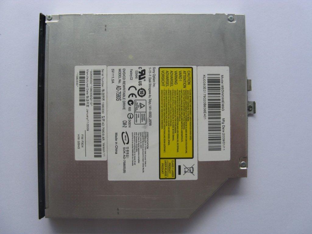 DVD vypalovačka pro eMachines e520