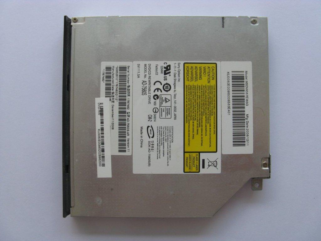 DVD vypalovačka pro Acer TravelMate 5730