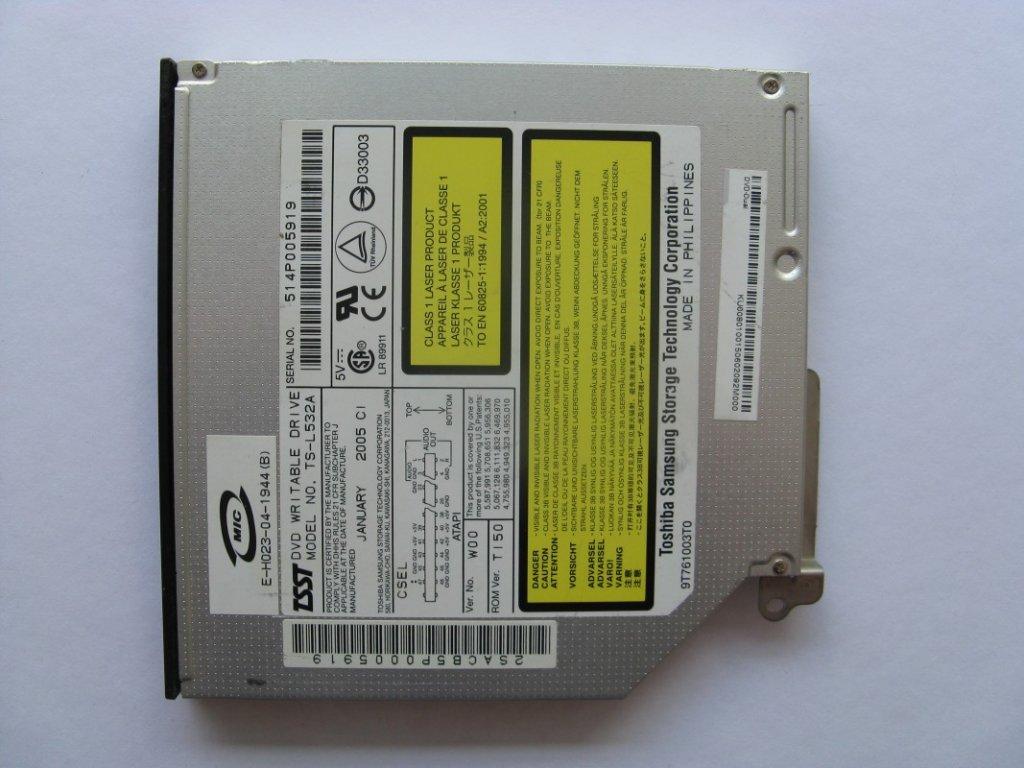 DVD vypalovačka pro Acer Aspire 1363WLMI