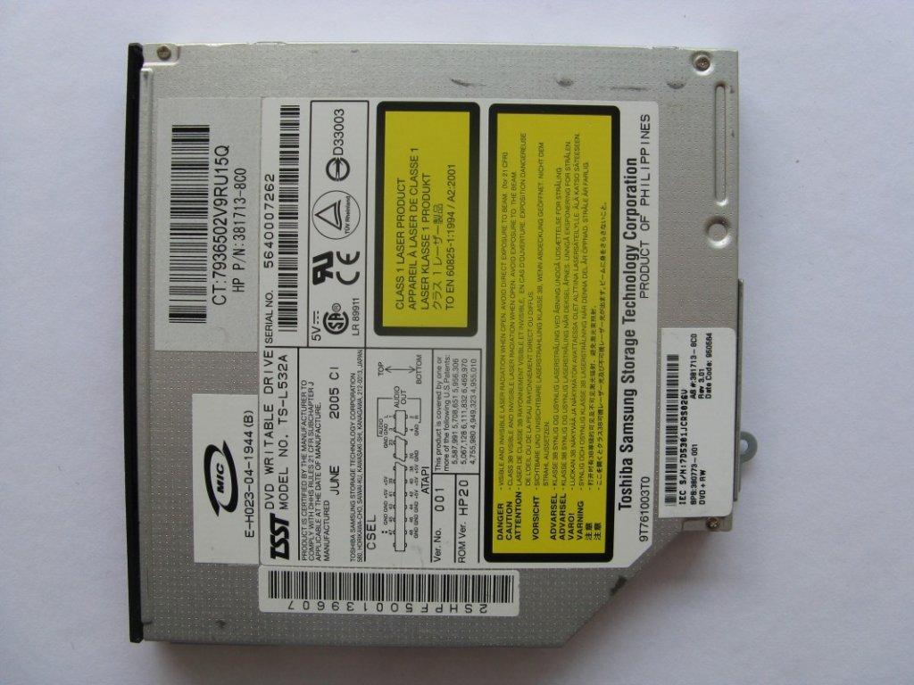 DVD vypalovačka pro HP Compaq NC6120