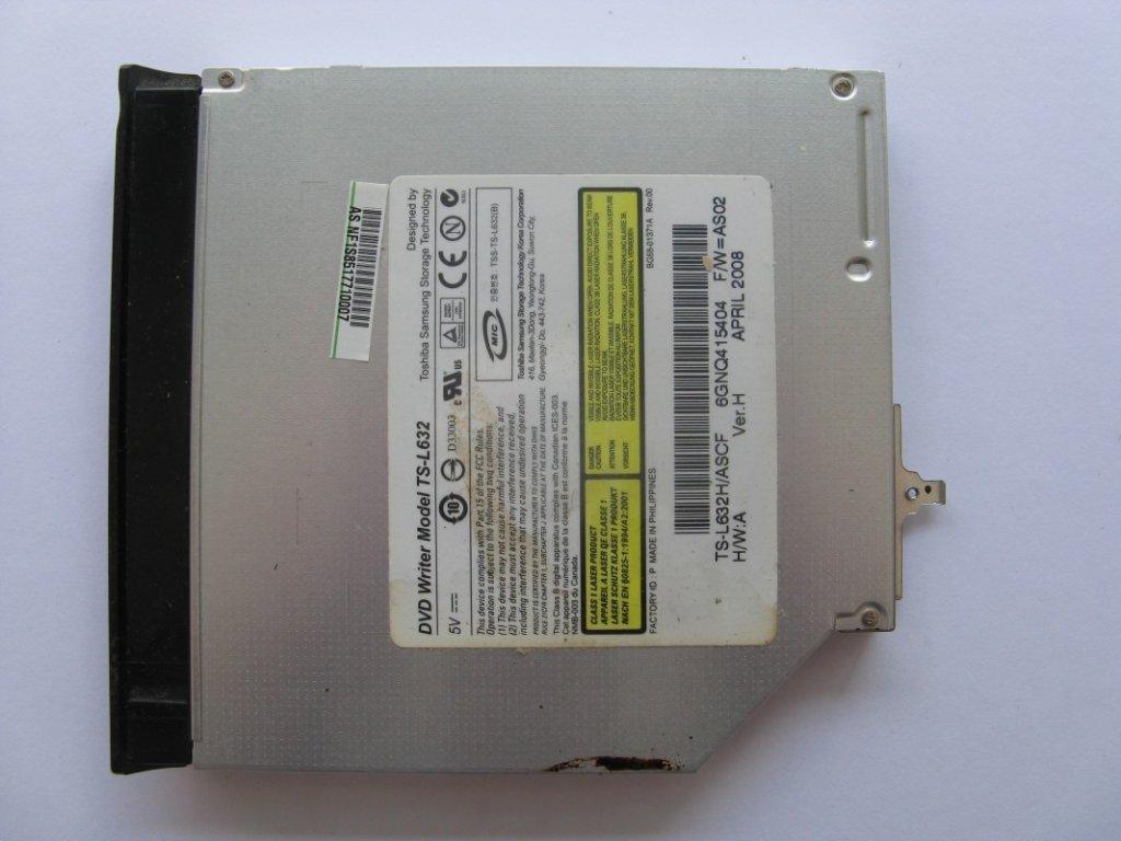 DVD vypalovačka pro Asus X80L
