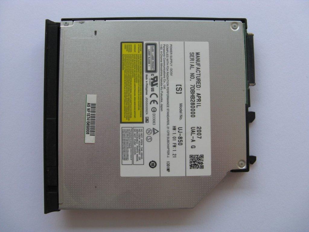 DVD vypalovačka pro Asus V1J