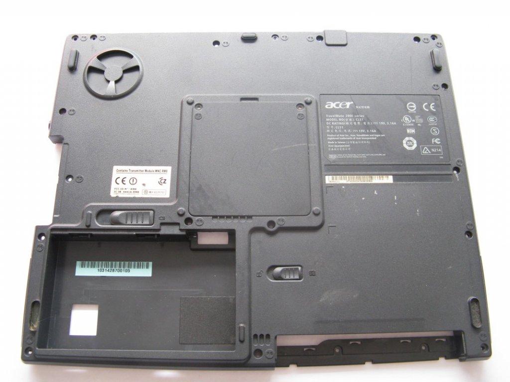 Spodní kryt pro Acer TravelMate 292ELCI