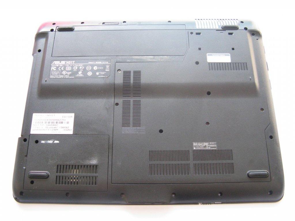 Spodní kryt pro Asus N51T