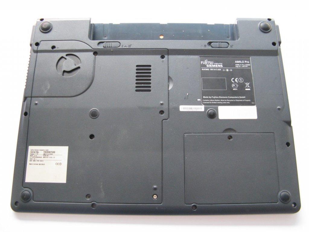 Spodní kryt pro Fujitsu Siemens Amilo Pro V2055