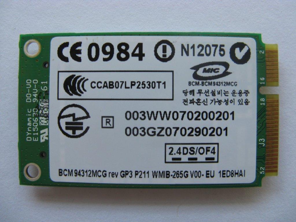 WiFi Mini MIC Card