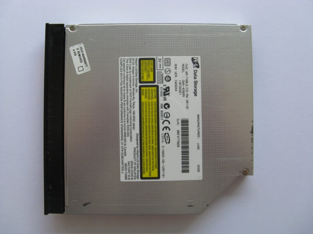 DVD vypalovačka pro Fujitsu Siemens Amilo Pi1556