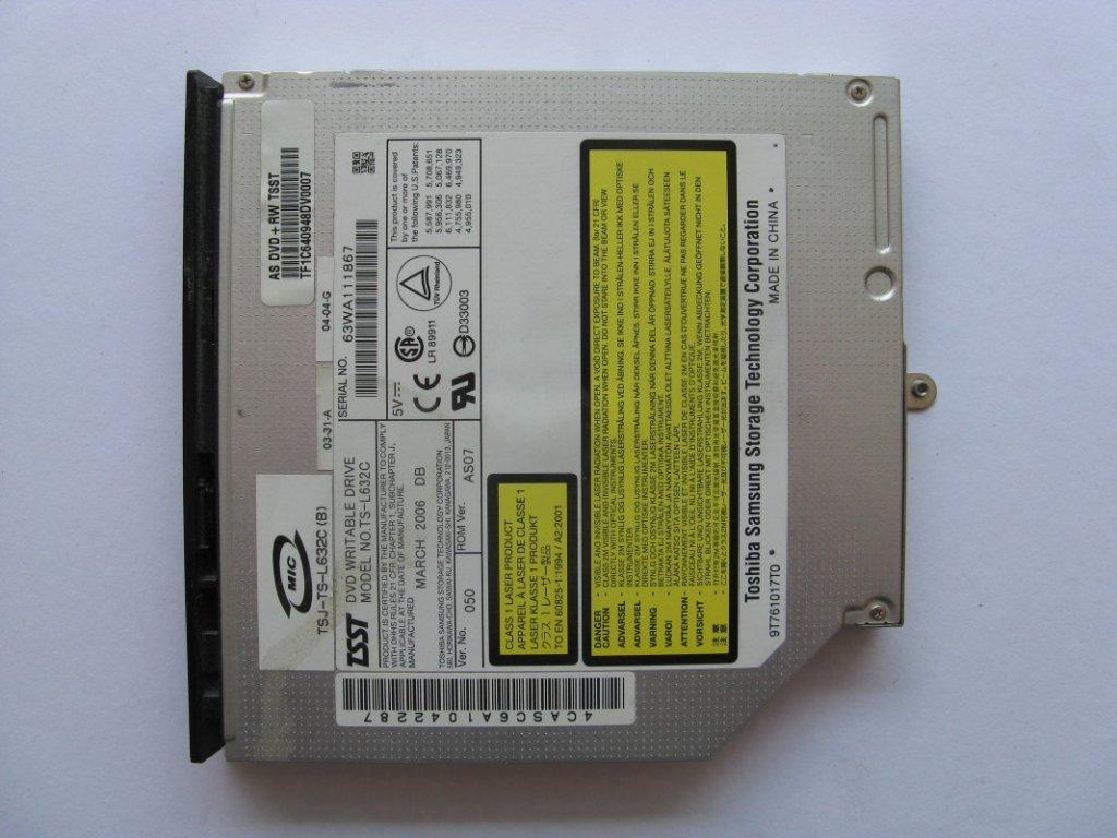 DVD vypalovačka pro Asus A6000KM
