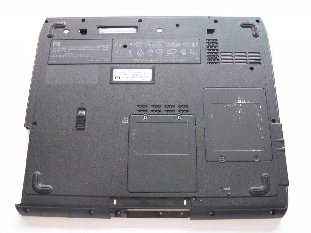 Spodní kryt pro HP CompaQ NX9005