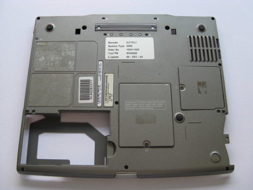 Spodní kryt pro DELL D600
